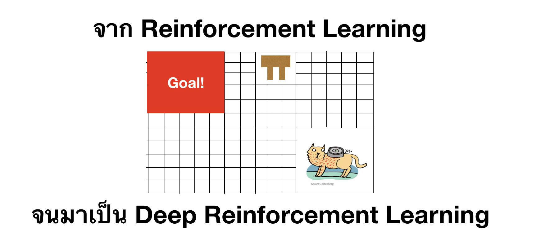 จาก Reinforcement Learning จนมาเป็น Deep Reinforcement Learning (ฉบับพกพา)