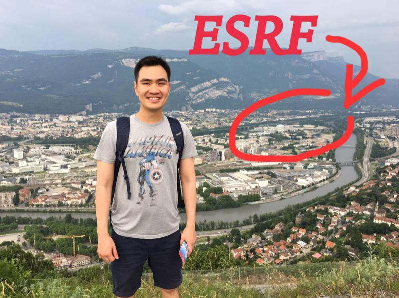 ประสบการณ์การทดลองที่ ESRF ประเทศฝรั่งเศส